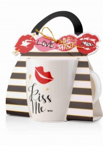 Kubek porcelanowy 355ml KISS ME